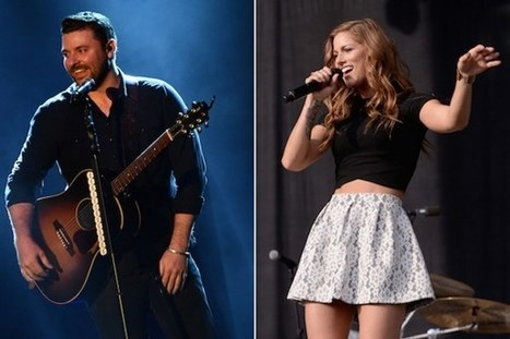Chris Young + Cassadee Pope Teaming for Club Show | Country Music Today | Scoop.it