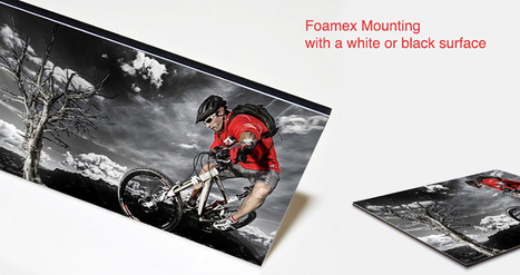 Photographic Mounting on Foame | CMYK Imaging | Scoop.it