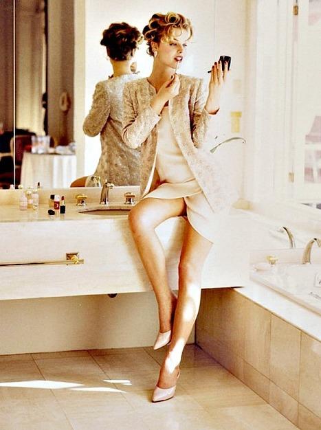 When Eva Herzigova was posing for Giorgio Grati | Le Marche & Fashion | Scoop.it