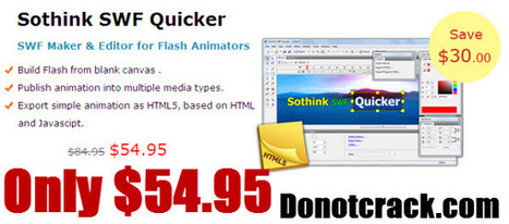 [Discount] Sothink SWF Quicker | 30$ OFF | Christmasquicker | Free license for you | Amazon Hot deal | Scoop.it