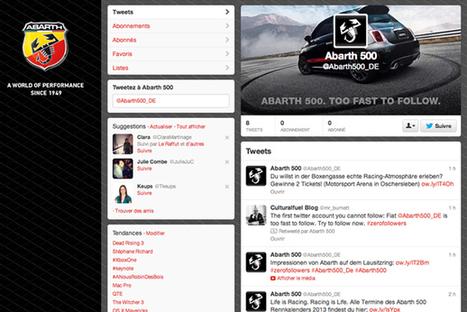 Trop rapide ! Fiat lance le premier compte Twitter impossible à suivre ! | Com-crosscanal | Scoop.it