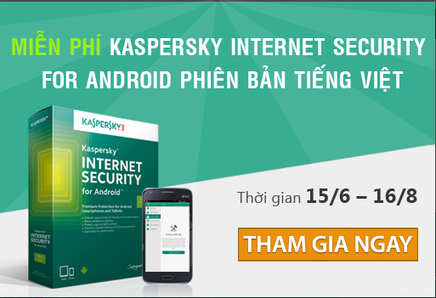 Key Kaspersky Internet Security for Android Full miễn phí 1 năm - Tiếng Việt | Giveaway Tech news, Wordpress, Mobile | Scoop.it