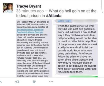 What is going on at USP Atlanta Prison Camp? | SocialAction2015 | Scoop.it