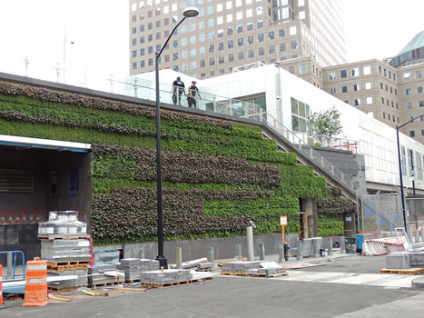 WTC G-O2® Living Wall at Liberty Park | Vertical Farm - Food Factory | Scoop.it