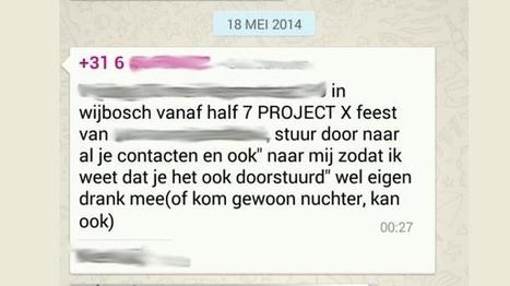 Project X Wijbosch: al meer dan duizend aanmeldingen via Whatsapp, dorp doodsbang | ten Hagen on Social Media | Scoop.it