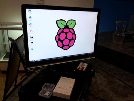 Twitter / pdp7: gave a @Raspberry_Pi to ... | Raspberry Pi | Scoop.it