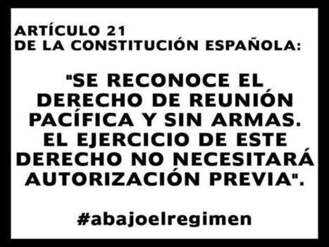 In memoriam: Art. 21 de la Constitució espanyola   LVDVS CHIRONIS 3.0   Scoop.it