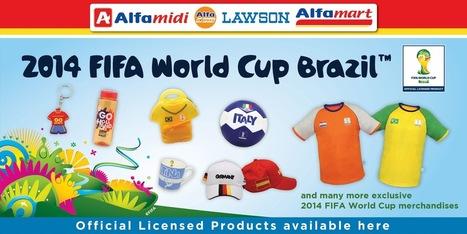 Alfamart official partner merchandise FIFA piala dunia Brazil 2014 | Serk Enjin | Alfamart | Scoop.it