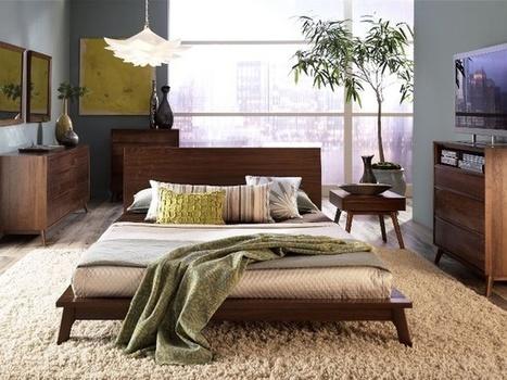 "Shag Rug in Modern Bedroom   Alexanian Carpet & Flooring - ""The World at Your Feet"" www.alexanian.com   Scoop.it"