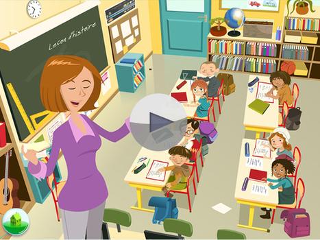 L'histoire de l'école expliquée aux enfants | fle enfants | Scoop.it