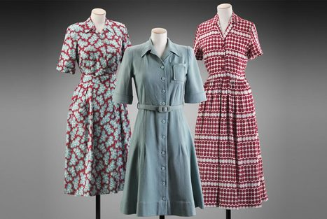 Beauty as Duty: Textiles on the Home Front in WWII Britain exhibition on view at Museum of Fine Arts, Boston | tesis | Scoop.it