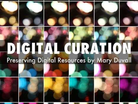 """Digital Curation"" - A Haiku Deck by 