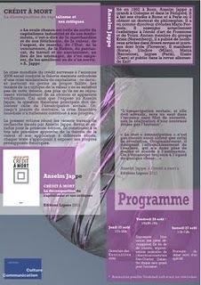 12ème Rencontres d'été : penser l'actuel, avec Anselm Jappe | Philosophie en France | Scoop.it