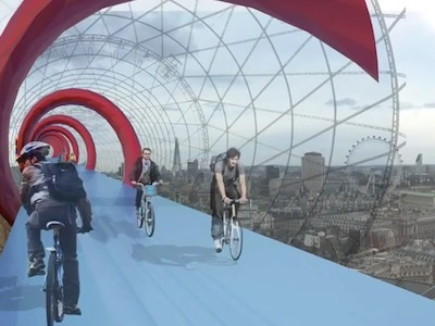 London Could Spend Tens Of Millions On Bike Highways In The Sky | Piccolo Mondo | Scoop.it