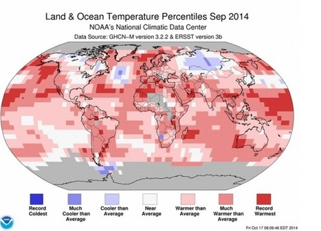 Earth Just Had Its Hottest September On Record | Nature | Scoop.it