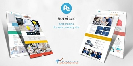 PE Services: A Multipurpose Theme for the Services You Provide | Free & Premium WordPress Themes | Scoop.it