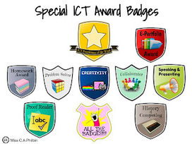 Miss Philbin's Teaching and Learning Journal: Eportfolio and ICT Badges Reactions   Badges for Lifelong Learning   Scoop.it