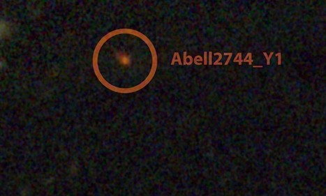 'Cradle of universe' galaxy pictured when it was 650 million years old   Science & The News   Scoop.it