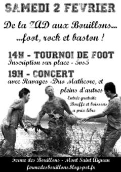 Ferme des Bouillons : Tournoi de foot et concert ! | Dans la CASE & Alentours | Scoop.it