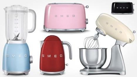 Le petit électroménager SMEG : icônes de style en cuisine | Décoration, tendances et bons plans | Scoop.it