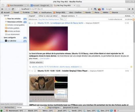 Ubuntu 13.10 / 13.04 / 12.10 / 12.04 - Installer Tiny Tiny RSS 1.10 | RSS Circus : veille stratégique, intelligence économique, curation, publication, Web 2.0 | Scoop.it