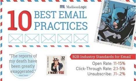 These email best practices will get you noticed | e-commerce & social media | Scoop.it