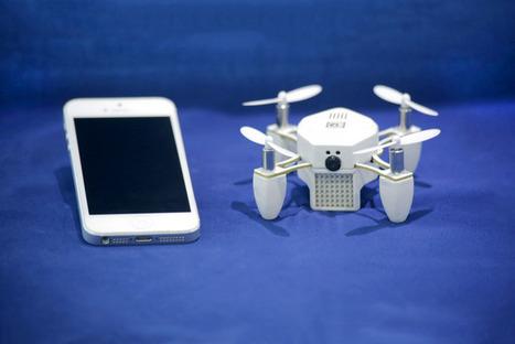 ZANO - Autonomous. Intelligent. Swarming. Nano Drone. | Innovation, entrepreneuriat  et internet des objets | Scoop.it