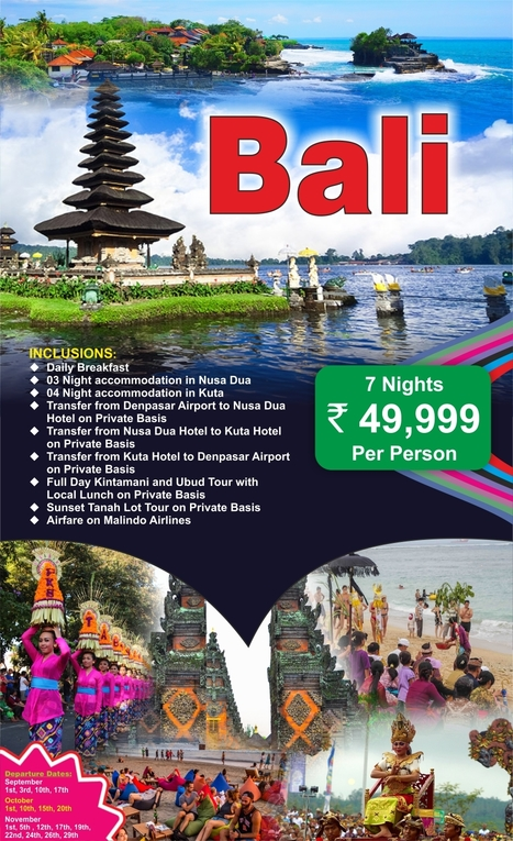 Bali Honeymoon Tour Packages From Delhi, India | International Travel Agents in Delhi | Scoop.it