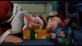 """the """"IN"""" show (blogIN): Best Animated Feature: ARTHUR CHRISTMAS Nominated for Golden Globe, Critics' Choice and Annie Awards 