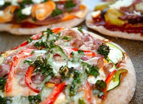 Pizza Recipe-Caramelized Onion Zucchini Pizza | recipe | Scoop.it