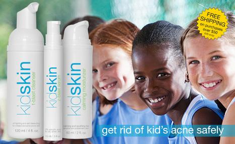 KidSkin.com   skin care for kids and tweens   acne   sensitive skin   eczema   rosacea   Kidskin USA   Scoop.it