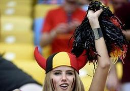 Belgium fan gets L'Oreal deal after her picture at World Cup goes viral  | Kickin' Kickers | Scoop.it