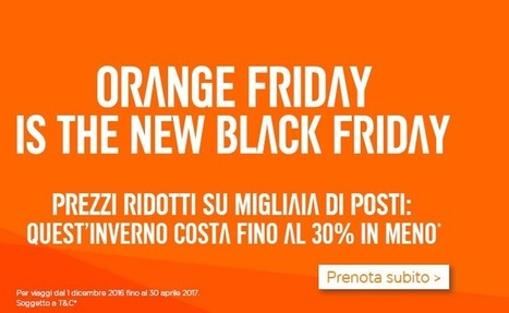 Black Friday Easyjet: voli scontati fino al 30% | Travel | Scoop.it
