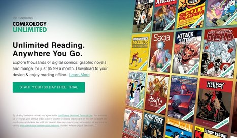 Amazon just blew my mind with a new $5.99 unlimited comic book service | COMMUNITY MANAGEMENT - CM2 | Scoop.it
