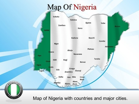 PowerPoint Template give a view of Nigeria Map | PowerPoint Maps | Scoop.it