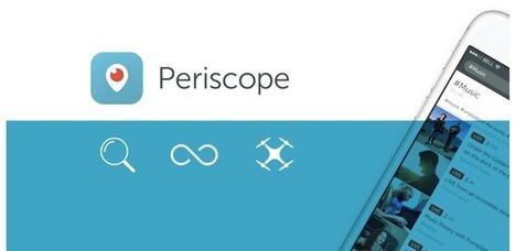 Les vidéos de Periscope ne seront bientôt plus éphémères par défaut | Web et reseaux sociaux | Scoop.it