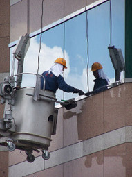 Window Cleaning Techniques: Rope Access over Scaffolding   embassycleaning.com   Scoop.it