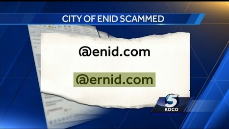 City of Enid scammed out of more than $30,000 | Head in the Clouds | Scoop.it
