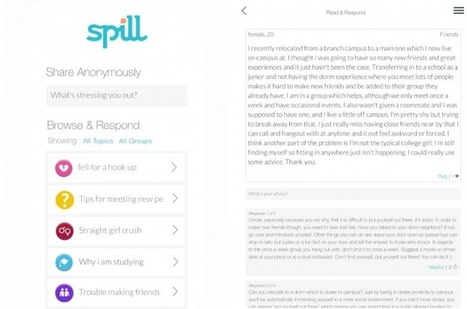 Spill launches mobile apps for Android and iOS devices | eTechcrunch.com | Scoop.it