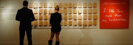 Graphisme & interactivité blog par Geoffrey Dorne » Des secrets en vrai exposés dans une galerie. | freehand illustration and graphic design | Scoop.it