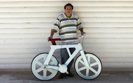 Cardboard bike is a 'game changer' in Africa | Strange days indeed... | Scoop.it