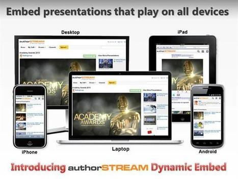Authorstream's All New Dynamic Embed Code Ppt Presentation | Educational Technology | Scoop.it