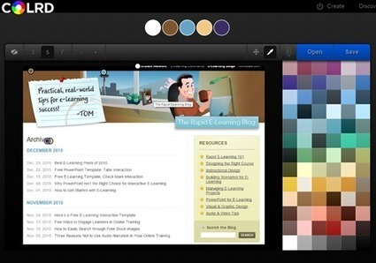 Find Color Schemes for Your E-Learning Courses | The Rapid E-Learning Blog | Educación Virtual UNET | Scoop.it