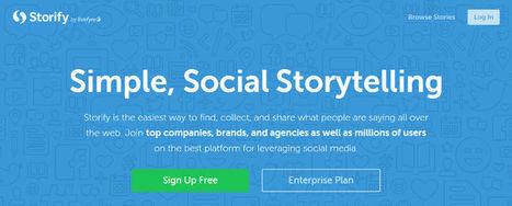 Storify : un simple outil de curation de contenu ? | Veille et bibliographie | Scoop.it