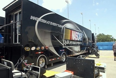 Inside NASCAR's Pit Road Technology program - Bay News 9 | CLOVER ENTERPRISES ''THE ENTERTAINMENT OF CHOICE'' | Scoop.it