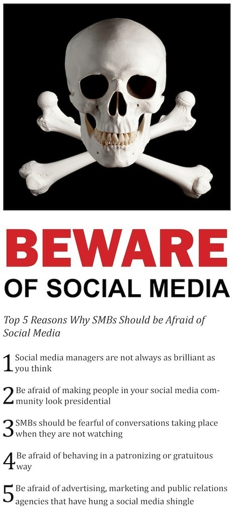 Top 5 Reasons Why SMBs Should be Afraid of Social Media | Web 2.0 Marketing Social & Digital Media | Scoop.it