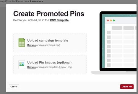 Pinterest Now Has A Bulk Upload Tool - CPC Strategy | Pinterest for Business | Scoop.it