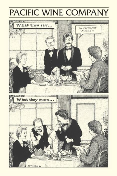 S.F. PACIFIC WINE COMPANY Wine Cartoons | 'Winebanter' | Scoop.it