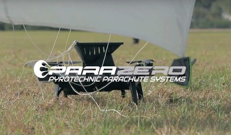 ParaZero offers emergency parachutes for drones - Geoawesomeness | Drone - UAV | Scoop.it