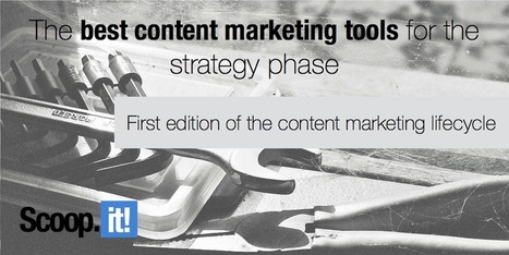 The best content marketing tools for the strategy phase (1/6) | Social  Buzzr | Scoop.it